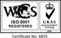 WCS ISO 9001 Registered